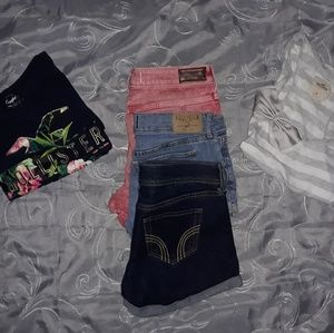 Hollister bundle 4 pieces